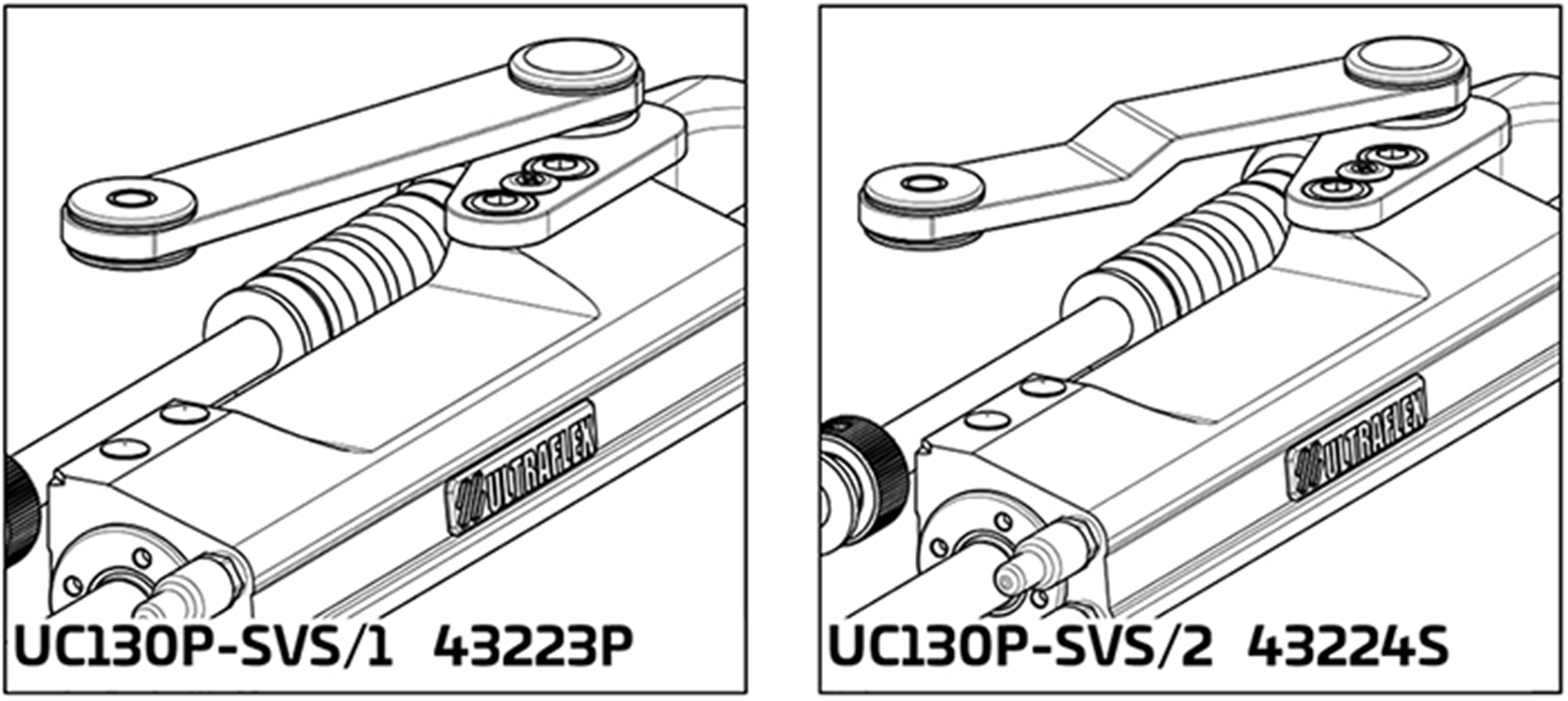 UC130 SVS Hydraulic Port Cylinder Application 1 and 2