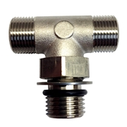 71955T Boss Style T-Fitting Nickel