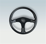Corse B/B 38332 N Black Grip Steering Wheel