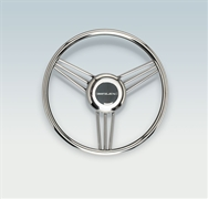 V27 Soft Grip  Stainless Steering Wheel 13.8""