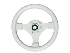 Ultraflex V45GW 3-Spoke Grey Steering Wheel