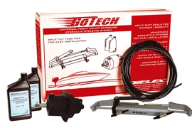 Gotech™ 42634 G Packaged Outboard Steering System For Up To 115 HP