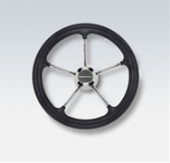 V29B 42846 Y Black Poly Grip Ss Spokes 13.8