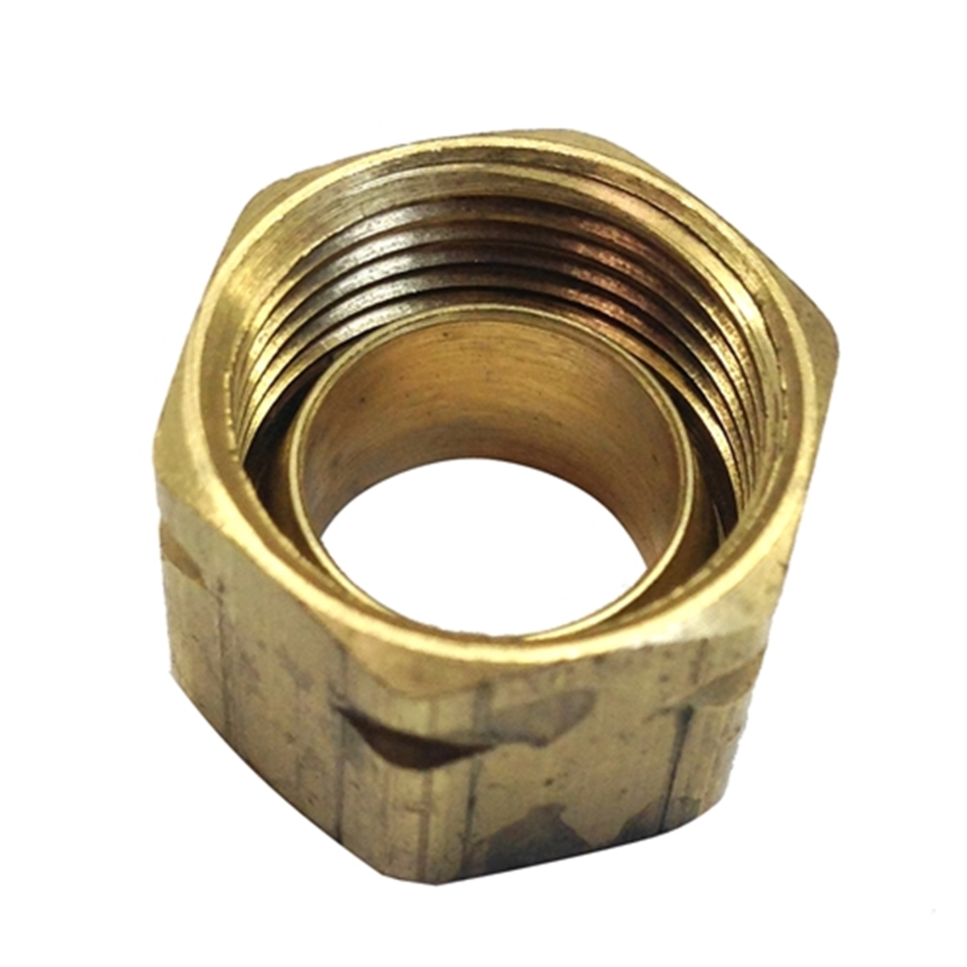 71004K Brass Nut w/Sleeve #61CA-6