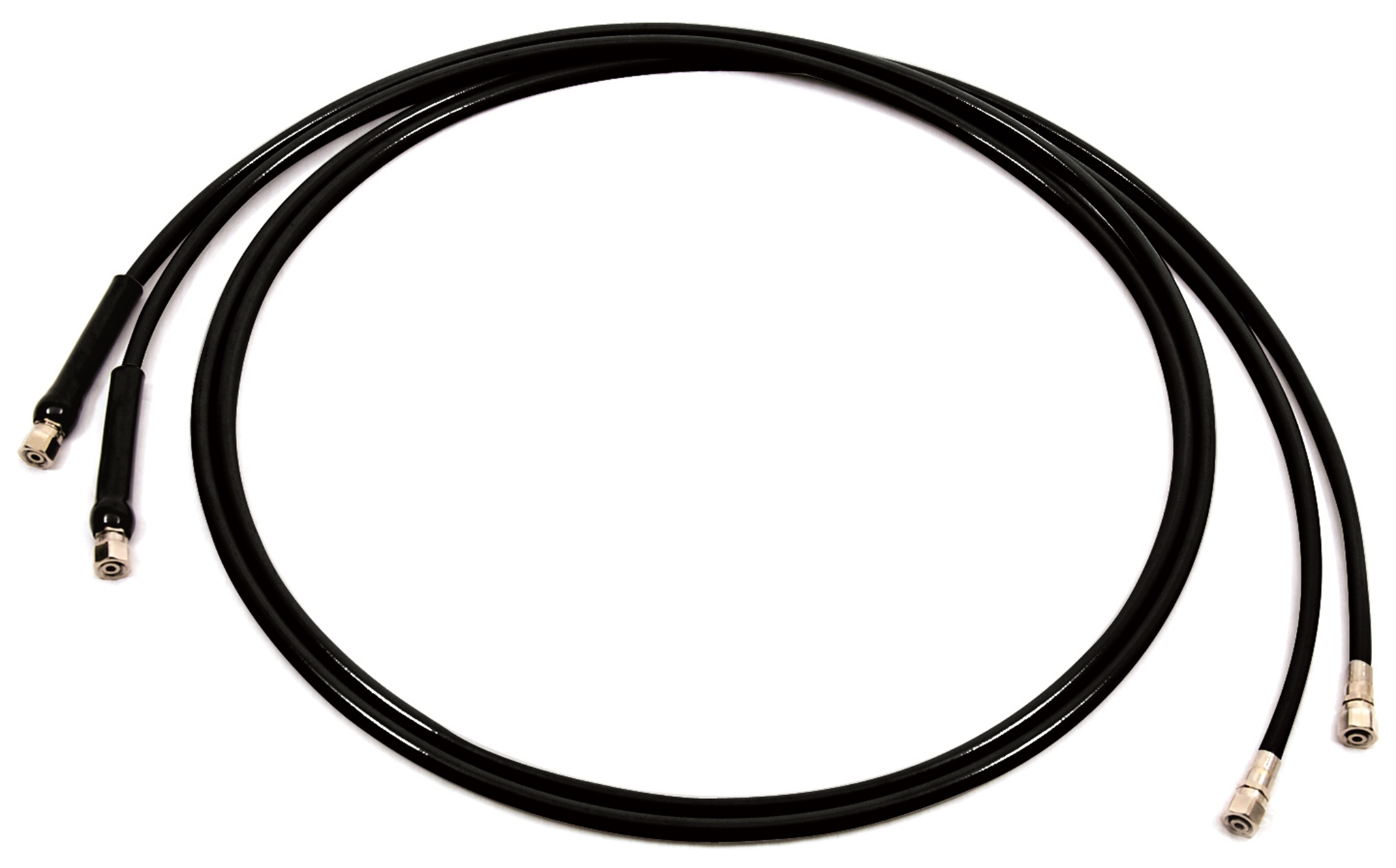 Silversteer Hose Kit With Bend Restrictors 6 FT.