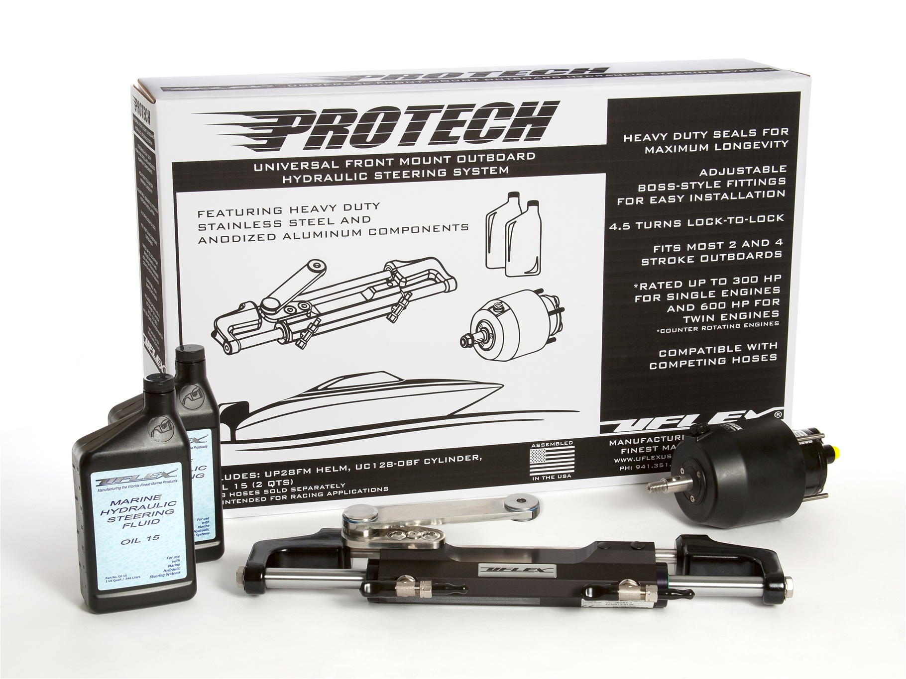 Protech 1 FM Hydraulic Steering Package