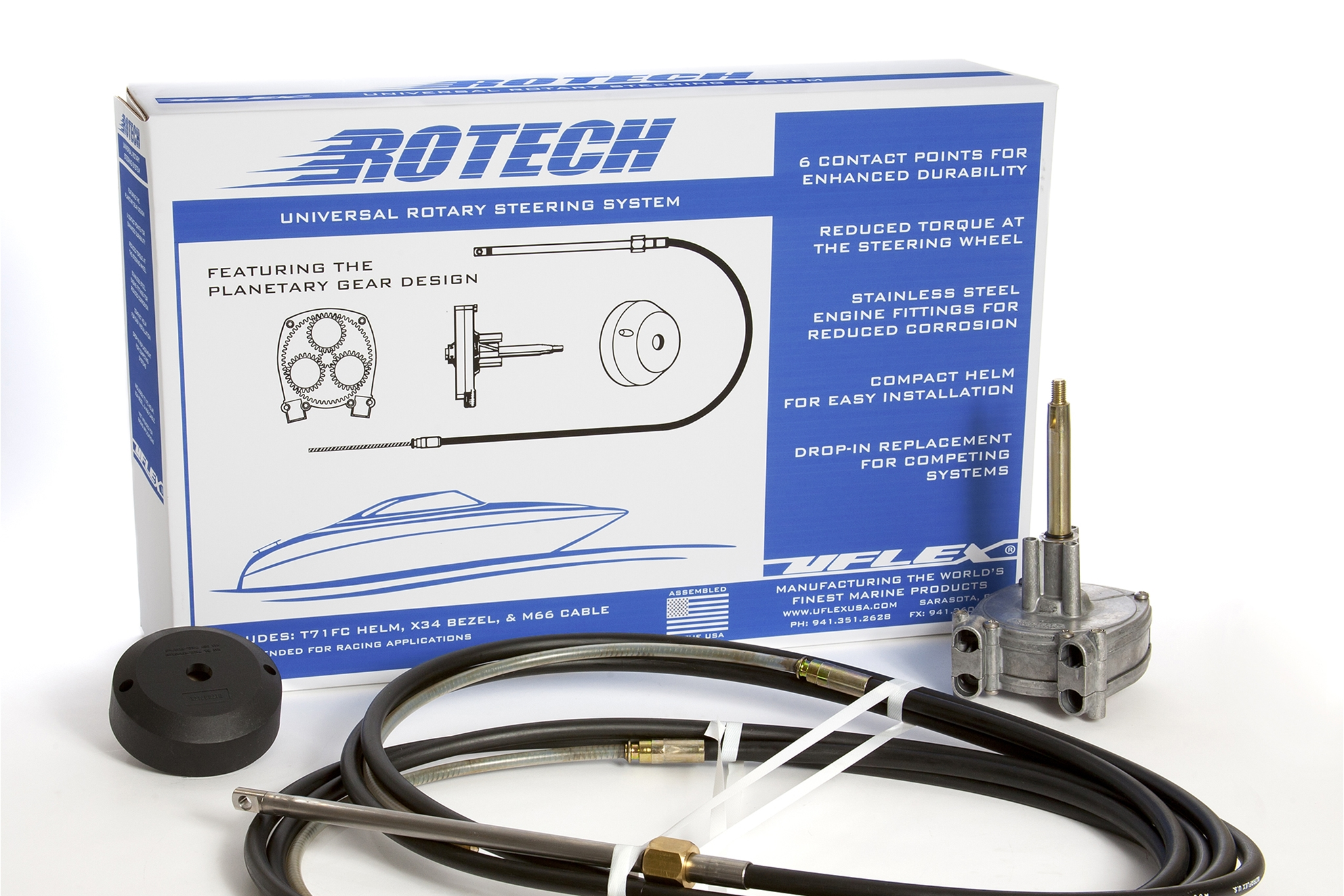 Rotech Dual Cable Rotary Steering System