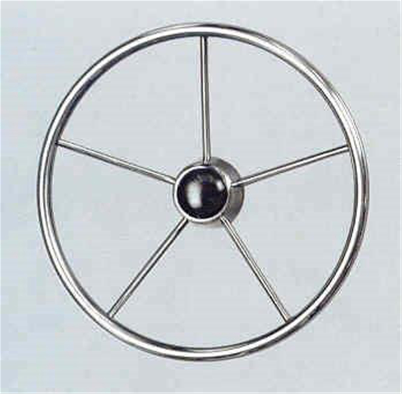 "V48 Stainless Steel Steering Wheel 13.5"" Dia"